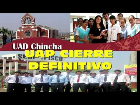 UAP ANUNCIA CIERRE DEFINITIVO DE FILIALES EN PISCO Y CHINCHA
