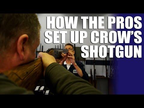 How the Pros set up Crow's shotgun