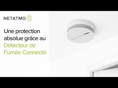 10 ans de batterie pour une protection absolue - Détecteur de Fumée Connecté Netatmo