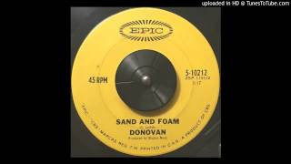 Donovan | Sand and Foam [1966]