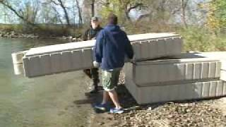 ShoreMaster Poly Dock Installation and Assembly