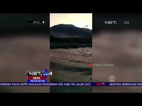 Video Amatir Detik Detik Tsunami Di Pesisir Palu-NET24