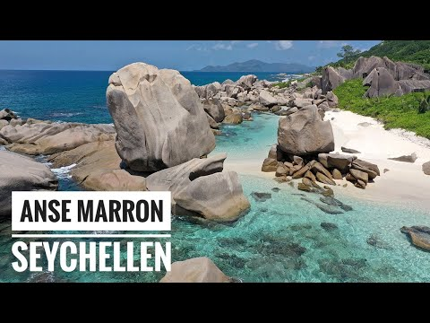 Anse Marron (La Digue, Seychellen) | Hiking Tour with CocoTrail Guide | Drone Video