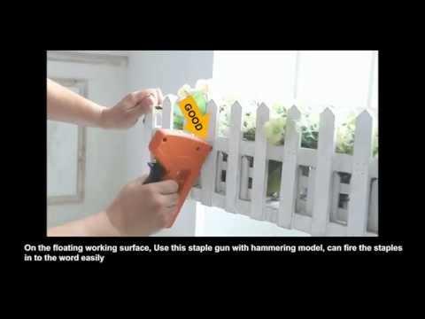 innovativer und vielseitiger Profi Tacker Handtacker Nagler, Hammertacker