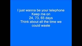 James Blunt - Telephone (lyrics)