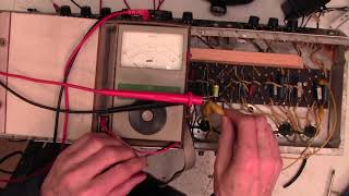 How to test capacitors on old valve amplifiers