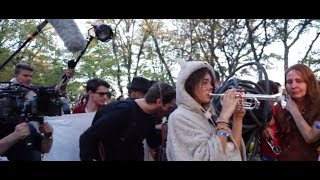 Red Eyes Cool in The Film Spring Open Flashmob 2019