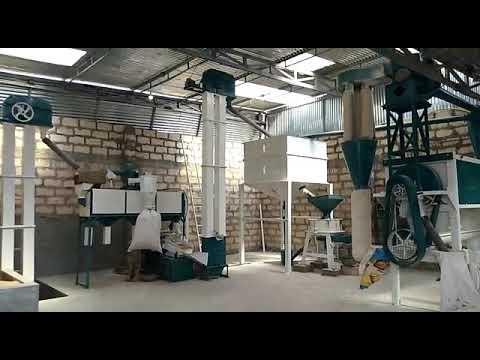 10 Ton Industrial Flour Mill Machine