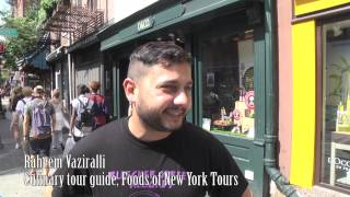 preview picture of video 'Foods of New York Tours - Greenwich Village Tour by Double-Barrelled Travel'
