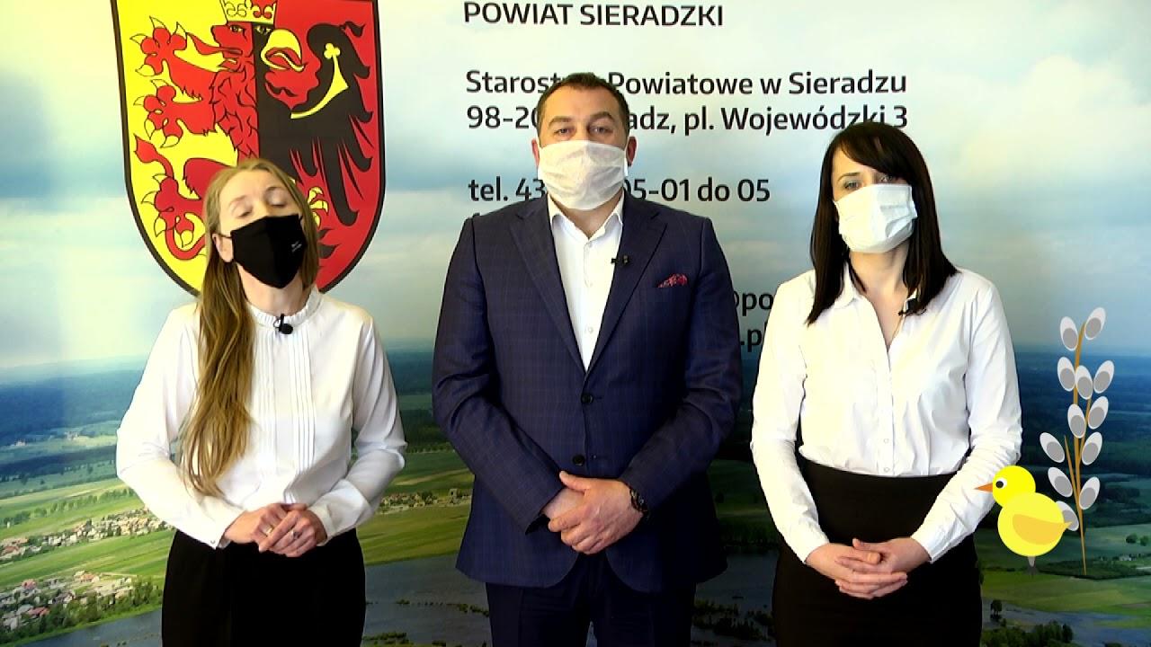 Życzenia Przewodniczącej Rady Powiatu Sieradzkiego i Radnych Klubu PiS