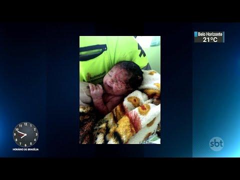 Bebê sobrevive após mãe ser arremessada de caminhão durante acidente na BR 116