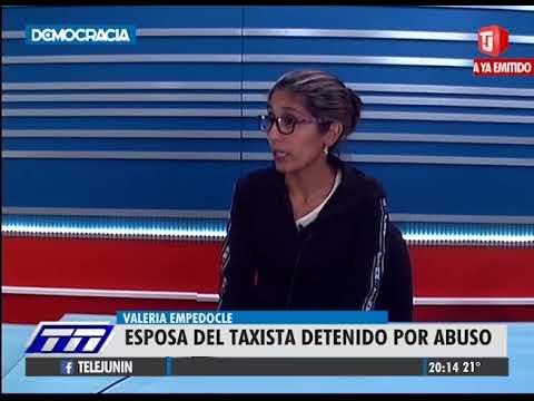 Valeria Empedocle - Mujer del taxista detenido