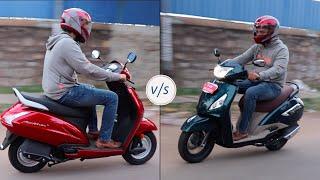TVS Jupiter Grande v/s Honda Activa 5G ultimate comparison!!
