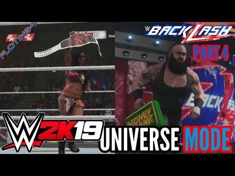 WWE 2K19 | UNIVERSE MODE #4 | NEW CHAMPIONS