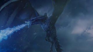 Король Ночи разрушает Стену Ночного Дозора   Игра Престолов (7 сезон, 7 серия)
