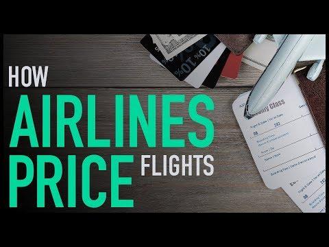 Jak aerolinky určují ceny letenek?