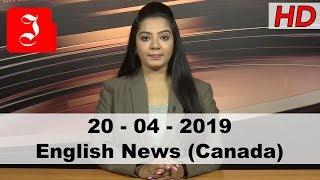 News English Canada 20th April 2019
