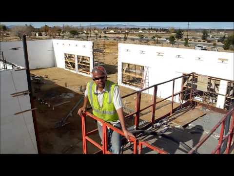 Fox Blocks Military Base Insulated Concrete Form Edwards AFB