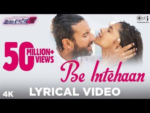 Download Be Intehaan - Lyrical Video | Race 2 | Saif Ali Khan & Deepika Padukone | Atif Aslam | Pritam | Tips HD Mp4 3GP Video and MP3