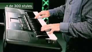 Korg Pa300 - Video