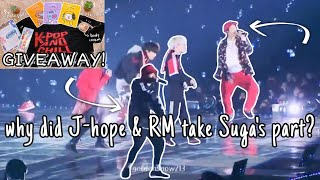 J-hope and RM only took 3 seconds to realize what was happening to Suga