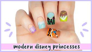 New Nail Art 2020 ♡ Modern Disney Princess Nail Designs!