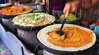 India's No.1 Dosa Stall   Anand Dosa #Mumbai    Jini Dosa   Chinese Dosa   Indian Street Food Recipe