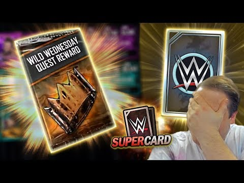 These Wild Wednesday Rewards are STUNNING!! Early Tier PULL! | WWE SuperCard