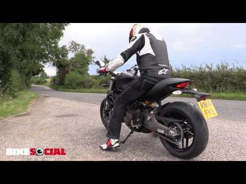 Ducati Monster 821 - first UK road test