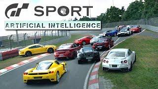 Gran Turismo Sport AI In A Nutshell