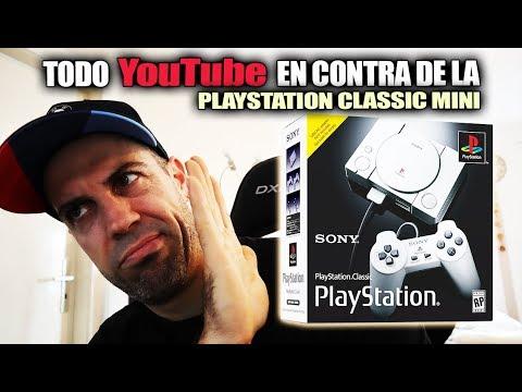 Playstation Classic Mini La más criticada y apuñalada por YouTubers   la comprarás el 3 de dic?
