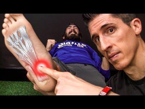 Durere acută în articulația piciorului