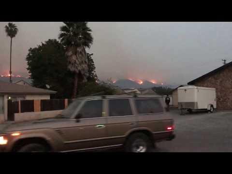California Fires (Thomas Fire): Carpinteria 12/10/2017