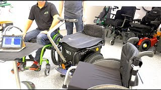 Rollstuhl Druckmessung Sitzen