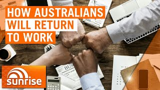 Coronavirus: How Australians will return to work post-pandemic | 7NEWS
