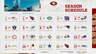 49ers Live Update: Analyzing the 2020 Schedule