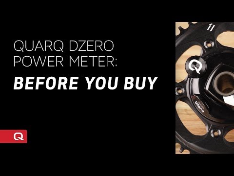 Quarq DZero Spider Installataion