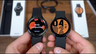 Samsung Galaxy Watch4 Classic vs Samsung Galaxy Watch4 Unboxing!