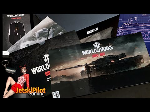 Unboxing: World of Tanks Roll Out Collector's Edition