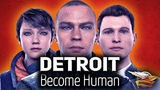 Стрим - Detroit: Become Human - Ламповое прохождение - Часть 4 - Финал