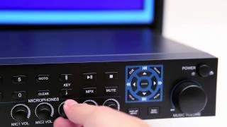 Acesonic BDK-2000 Blu-Ray Disc Multimedia Karaoke Player