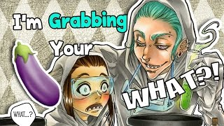 😨🍆I'm Grabbing Your WHAT?! (Video Comic)▼ Sheko and Skylar ▼ SACRED The Manga