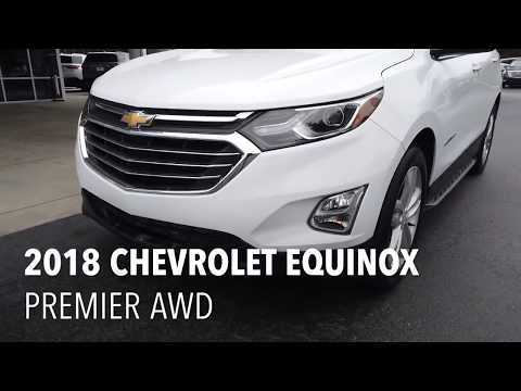 Pre-Owned 2018 Chevrolet Equinox AWD 4dr Premier w/2LZ