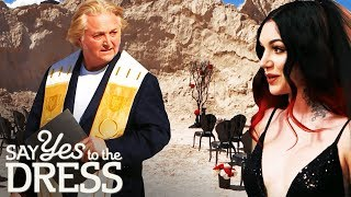 David Emanuel Officiates A Goth Wedding In Las Vegas! | Say Yes To The Vegas Dress
