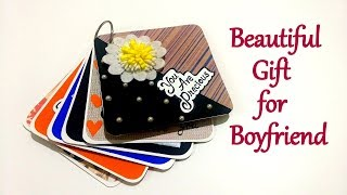 Beautiful Gift For BOYFRIEND | Special Handmade Gift Idea | Tutorial
