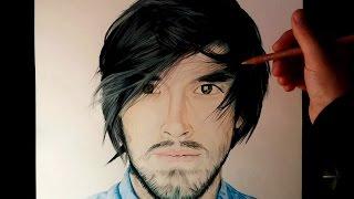 Dibujando a Youtubers | HolaSoyGerman - JuegaGerman