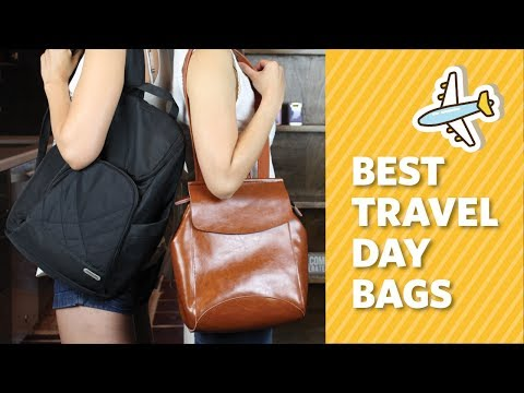 Our Favorite Day Bags for Traveling: Anti-Theft Backpack Review