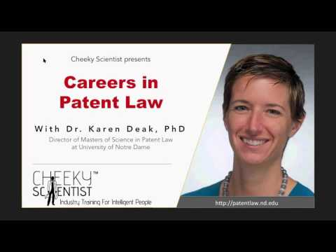 Careers in Patent Law - YouTube