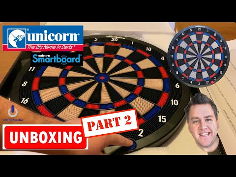 Unicorn Dart Smartboard - Soft Tip Version - Review Smart Board 🎯  - Part 2