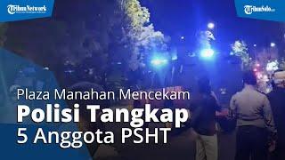 5 Orang Ditangkap saat Massa PSHT Padati Plaza Manahan, Ini Penjelasan Polisi